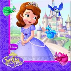 20 serviettes - Princesse Sofia