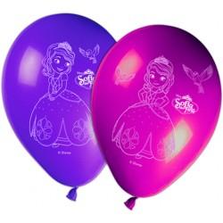 8 ballons - Princesse Sofia