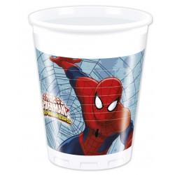 8 gobelets - Spiderman