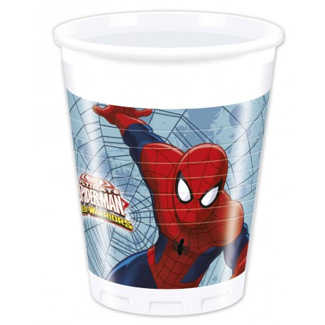 8 gobelets - Spiderman