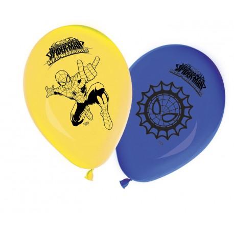 8 ballons - Spiderman