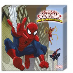 20 serviettes - Spiderman
