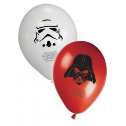 8 ballons - Star Wars