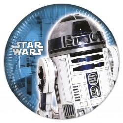 8 assiettes 20 cm - Star Wars