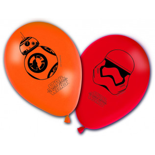 8 ballons - Star Wars Le Reveil de la Force