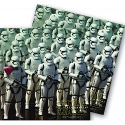 20 serviettes - Star Wars Le Reveil de la Force