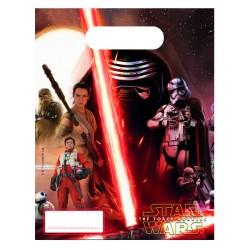 6 sacs à bonbons - Star Wars Le Reveil de la Force