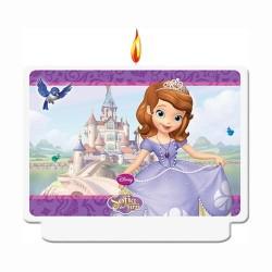 Bougie décor - Princesse Sofia