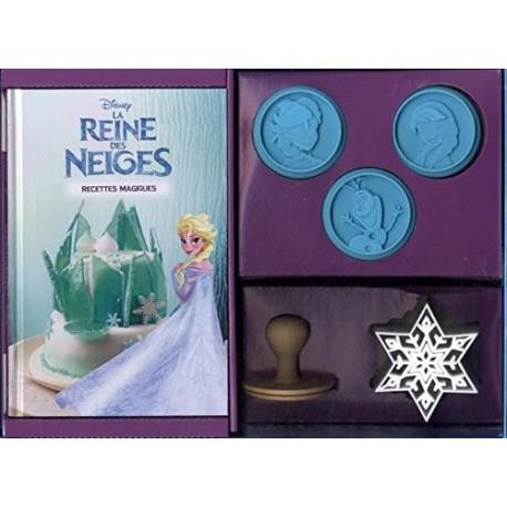 """Coffret Reine de Neiges """"recettes magiques"""""""