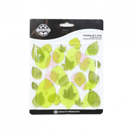 Set de 11 veineurs pour feuilles