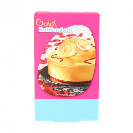 """Pâte à sucre """"gold"""" - 250g"""