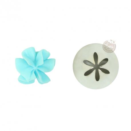 "Douille medium 2D ""fleur"""