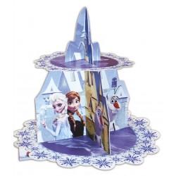 Présentoir à cupcakes - La Reine des Neiges