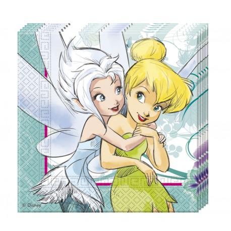 20 serviettes en papier - Fairies 2