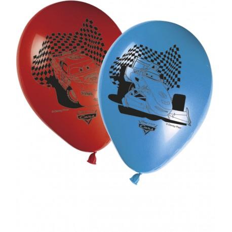 8 ballons - Cars