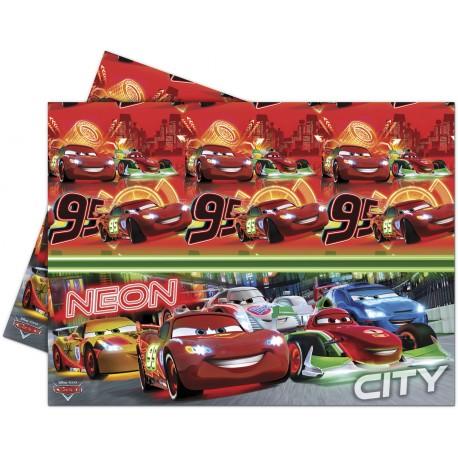 Nappe en plastique - Cars néon