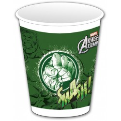 8 gobelets - Avengers Hulk