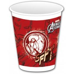 8 gobelets - Avengers Iron Man