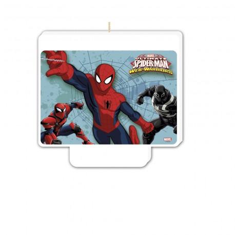 Bougie décor - Spiderman