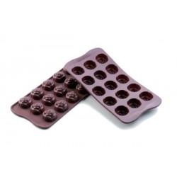"""Moule à chocolats """"roses"""""""