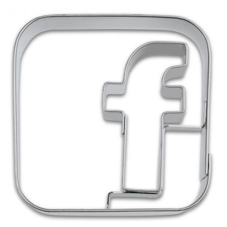 Emporte-pièce Facebook