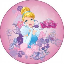 Disque pâte à sucre Princesses Disney 21 cm - Différents modèles