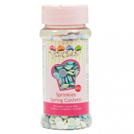 Confettis multicolores Printemps