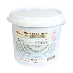 Pâte à sucre 7 kg  Massa Ticino - Blanc