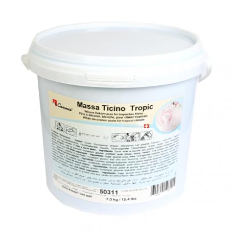 Pâte à sucre 7kg  Massa Ticino - Blanc