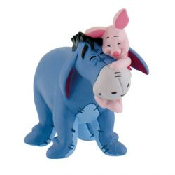 Figurine Bourriquet et Porcinet - Winnie l'Ourson