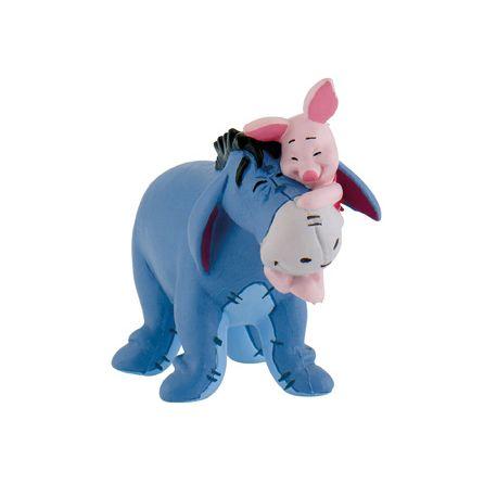 Figurine Bourriquet et Porcinet - Winnie l'Ourson