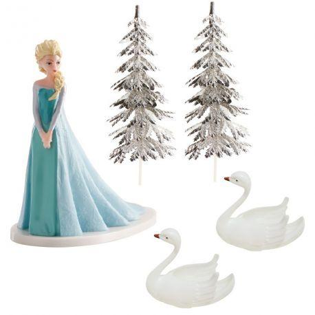 Kit de figurines Elsa sur socle