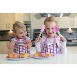 Cuillère et spatule pastel
