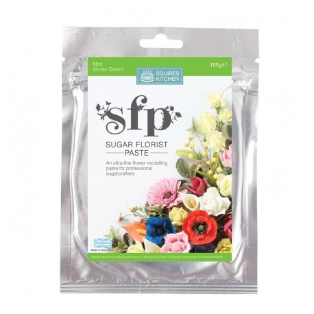 Pâte à modeler (menthe) - spécial fleurs