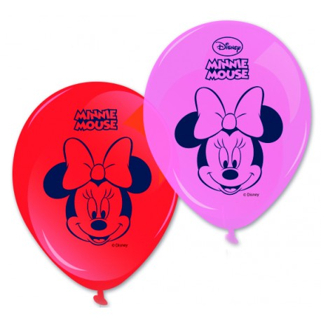 8 ballons - Minnie