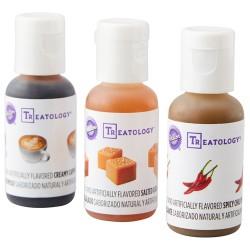 """Kit de 3 arômes alimentaires concentrés """"Treatology chocolat"""""""