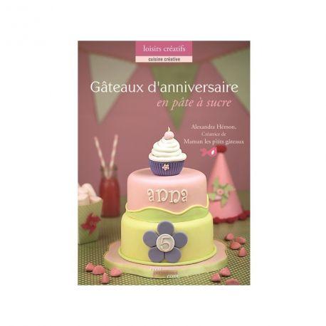 """Livre """"Gâteaux d'anniversaire en pâte à sucre"""""""
