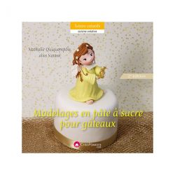 """Livre """"Modelages en pâte à sucre pour gâteaux"""""""