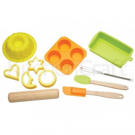 Kit de pâtisserie enfants 11pc