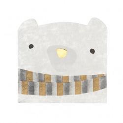 """16 serviettes en papier """"Ours Polaire"""""""