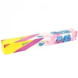 Pâte à sucre bleue étalée prête à l'emploi