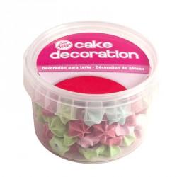"""Décorations en sucre """"étoile"""""""