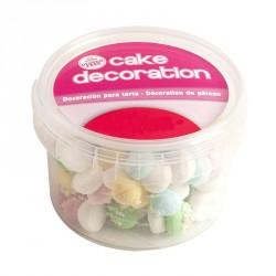 """Décorations en sucre """"champignon pastel"""""""