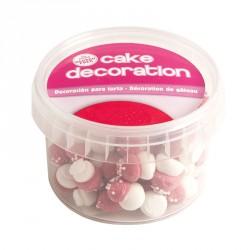 """Décorations en sucre """"champignon rouge"""""""