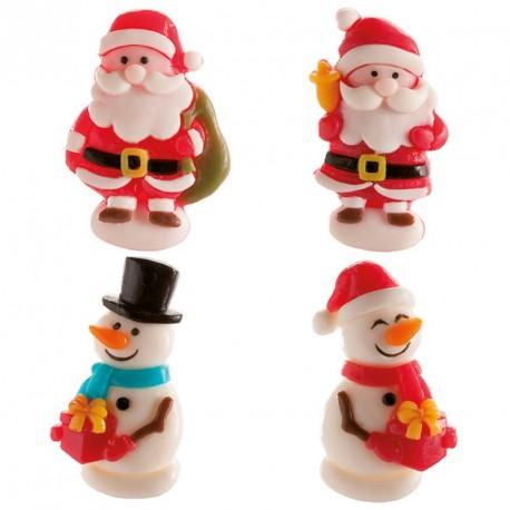 """Lot de 4 bonbons """"Noël"""""""