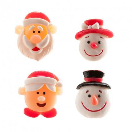 """Lot de 4 bonbons """"C'est Noël"""""""