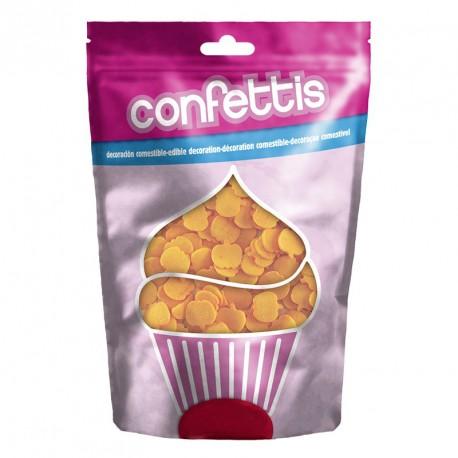 Confettis Citrouille