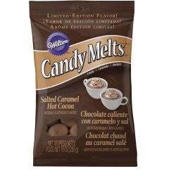 Candy Melts - Pistoles aromatisées chocolat chaud & caramel beurre salé