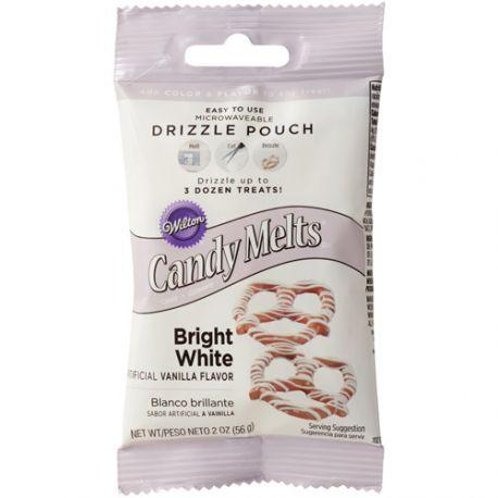 Poche à glaçage - Candy Melt Extra Blanc - 56 g
