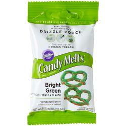 Poche à glaçage - Candy Melt Vert- 56g
